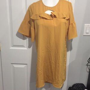 FINAL PRICE!!! Yellow dress